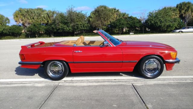 85 mercedes benz sl 500 euro model for Mercedes benz of delray used