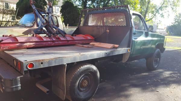 86 Chevy Cucv M1031 K30 D30 4x4 Military Np205 Th400 Dana