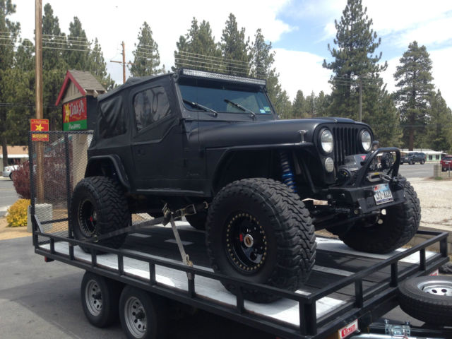 86 Jeep Cj7 Rock Crawler V8 1 Ton Axles King Coilovers