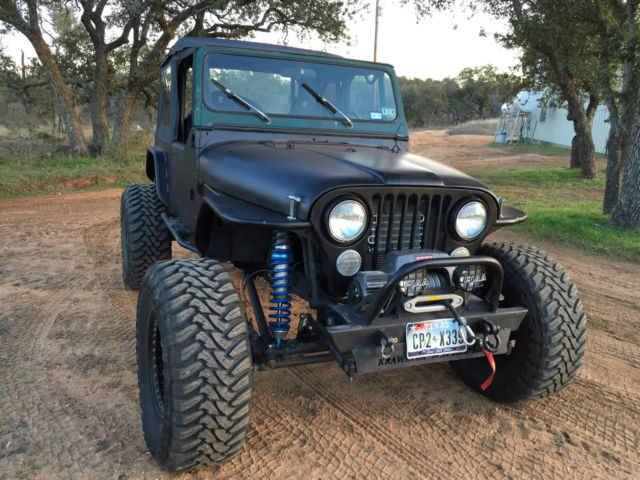 86 Jeep Cj7 Rock Crawler V8 1 Ton Axles King Coilovers