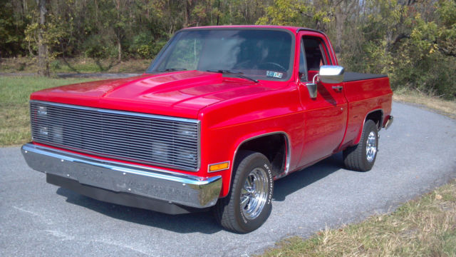 87 chevy k10 short bed