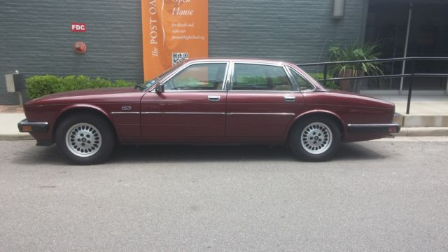 Quot 88 Jaguar Xj6 Maroon 4 Door Sedan Great Condition 53 K