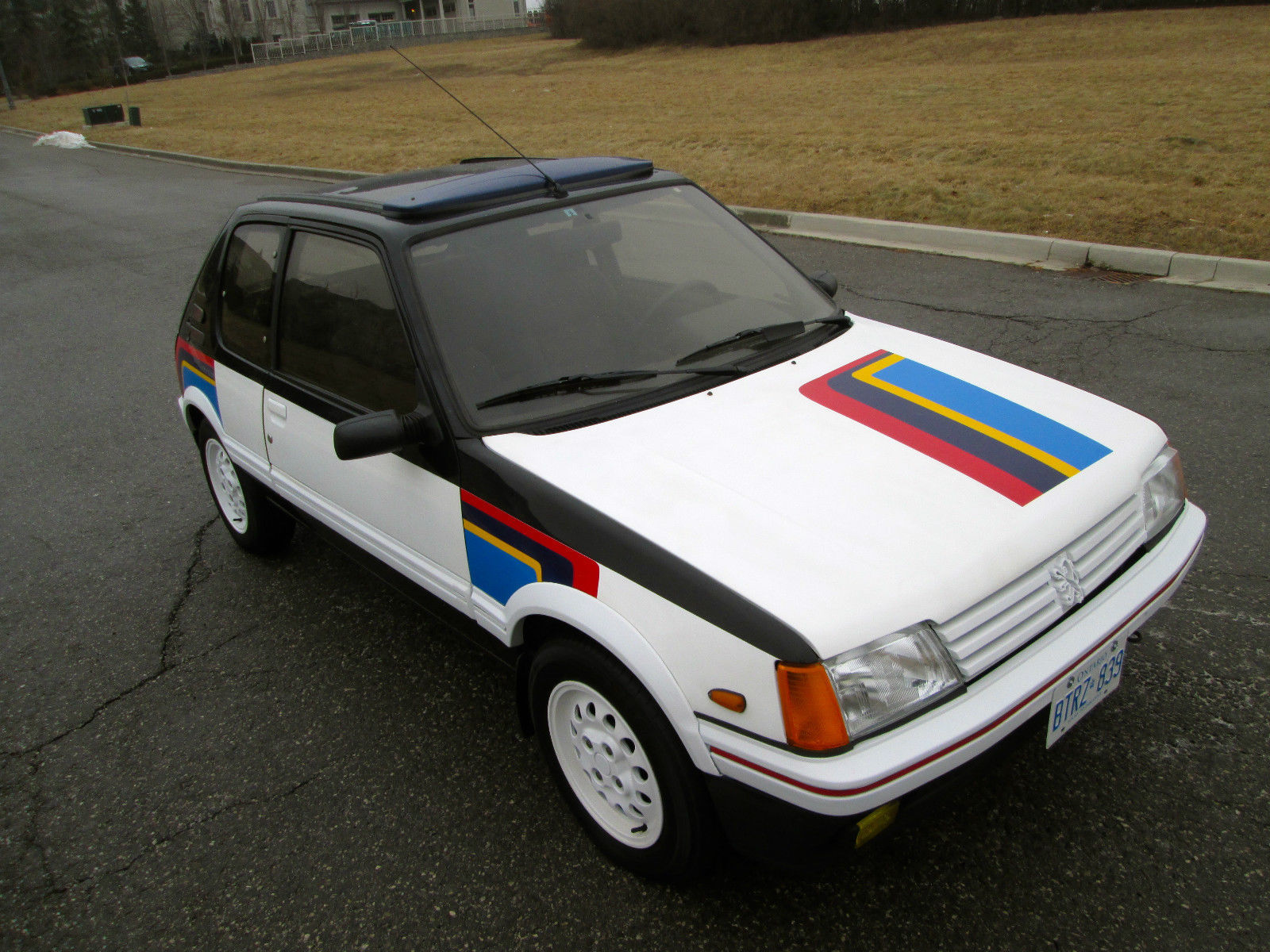 88 peugeot 205 gti 1 9 rally stripes 33k orig miles timecapsule norust usa legal for sale in. Black Bedroom Furniture Sets. Home Design Ideas