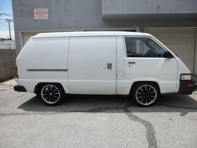 88 Toyota Cargo Van Rare
