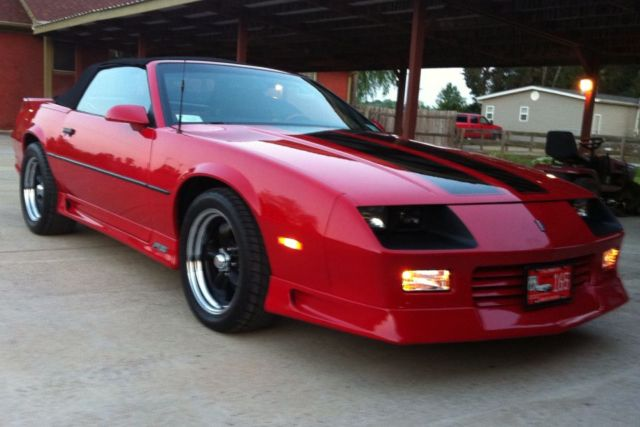 91 Camaro Rs Convertible For Sale In Jackson Tennessee