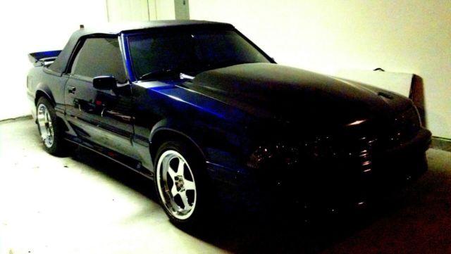 91 Turbo Fox Body Mustang Convertible Saleen Cobra Roush