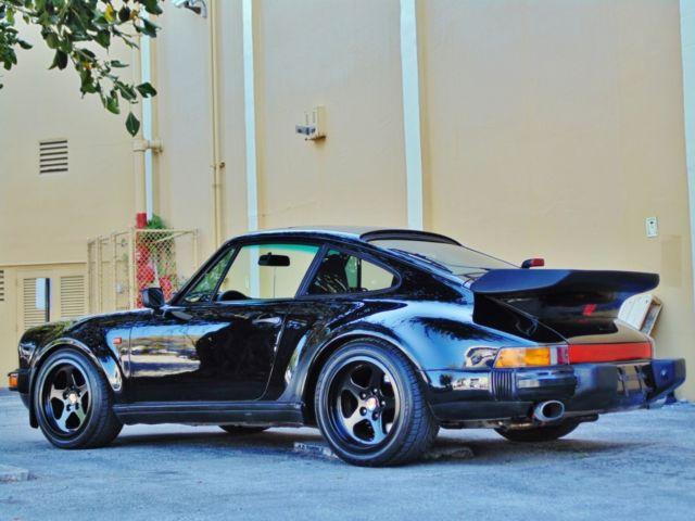 911 Turbo Black On Black Ruf Wheels Very Nice For