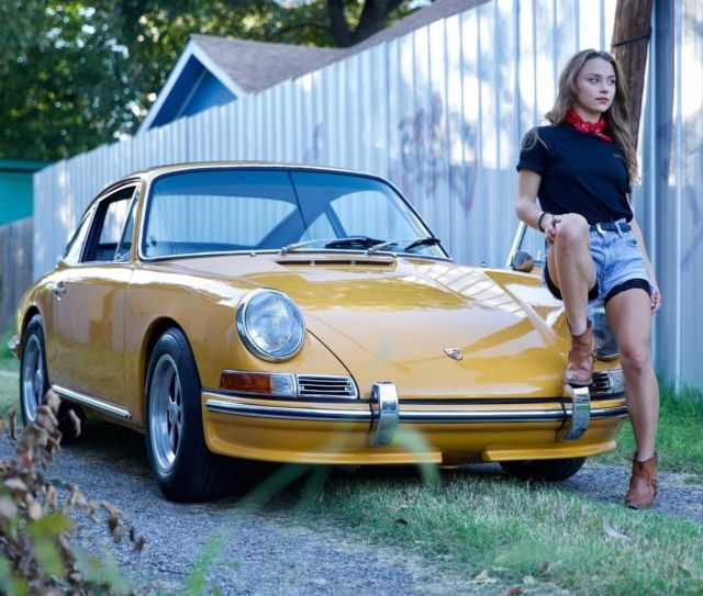 Porsche 911 Engine Weight: 912 911 Bahama Yellow Outlaw Custom Light Weight Race 356
