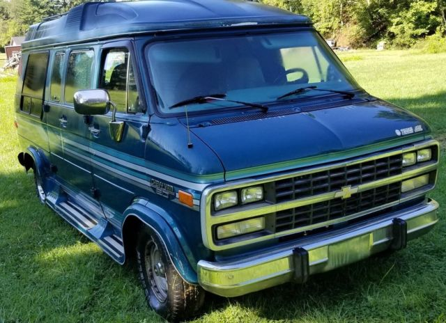 92 Chevy G20 Conversion Van Great For Work Or Rebuild As Camper Nomad Van For Sale Photos Technical Specifications Description