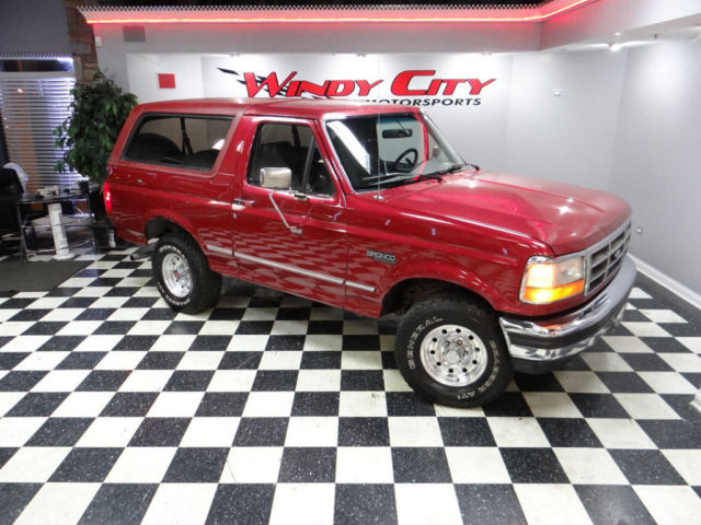 94 Ford Bronco Xlt 4x4 351 5 8l Slotted Alloys Tow Pkg 5th