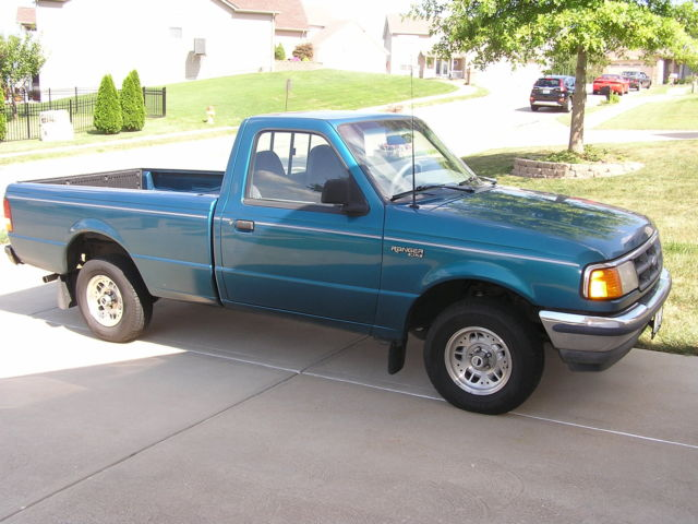 94 Ford Ranger Xlt Regular Cab Long Bed 6 Cyl Auto Good