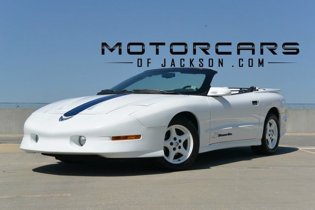 94 Trans Am Convertible 25th Anniversary Limited Production