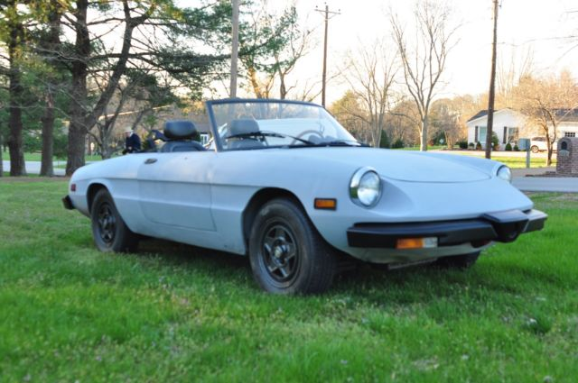 Alfa Romeo Spider Project Car And Parts - Parts for alfa romeo spider
