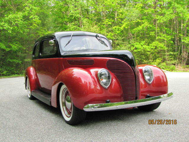 All steel 38 ford street rod for 1938 ford deluxe 2 door sedan