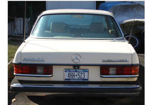 Antique 1984 Mercedes Benz 300CD Turbo Diesel Rare Two Door