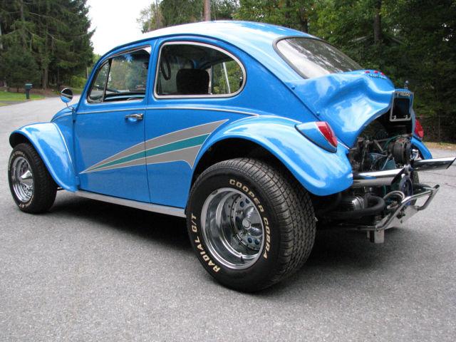 Awesome Baja Bug Big Motor New Interior Newer Rims And
