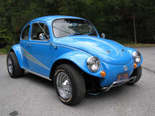AWESOME BAJA BUG BIG MOTOR NEW INTERIOR NEWER RIMS AND ...