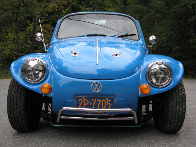 awesome baja bug big motor  interior newer rims  tires sharp paint fast  sale