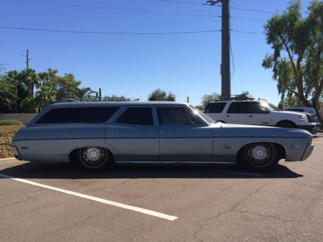 bagged 1968 chevy impala wagon for sale in gilbert arizona united states. Black Bedroom Furniture Sets. Home Design Ideas