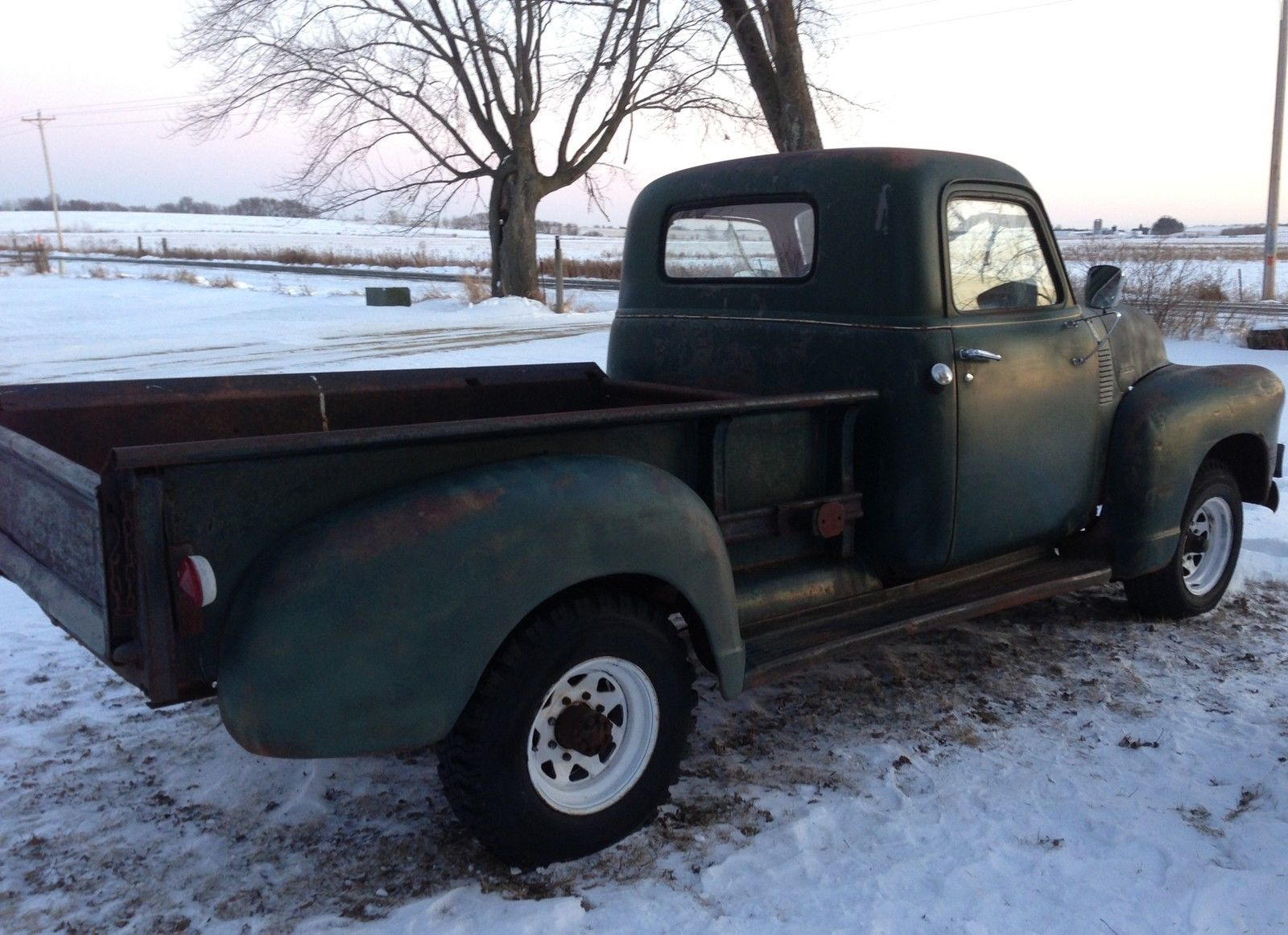 BARN FIND 1950 CHEVROLET 3600 PICKUP TRUCK PATINA HOT RAT ROD GMC 1947 1953 for sale in Roberts