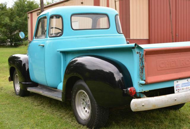Barnfound 1950 chevrolet 3100 swb 5 window pickup truck for 1950 chevrolet 5 window pickup