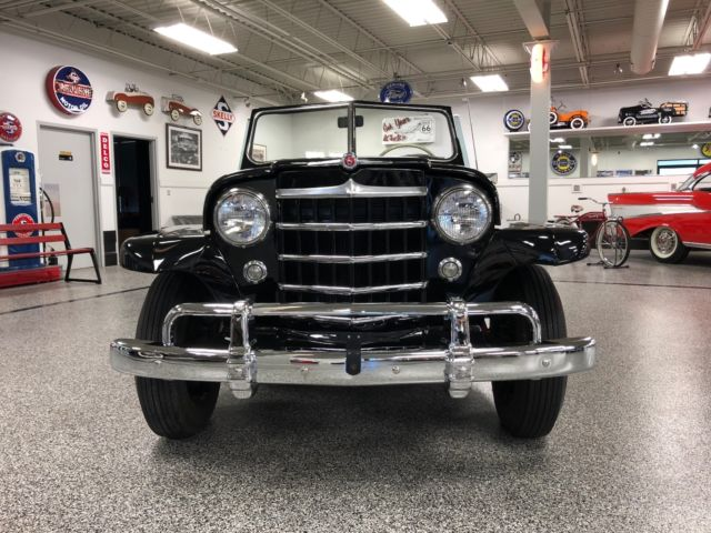 beautiful 1950 jeep jeepster fine example long term ownership overland commando. Black Bedroom Furniture Sets. Home Design Ideas