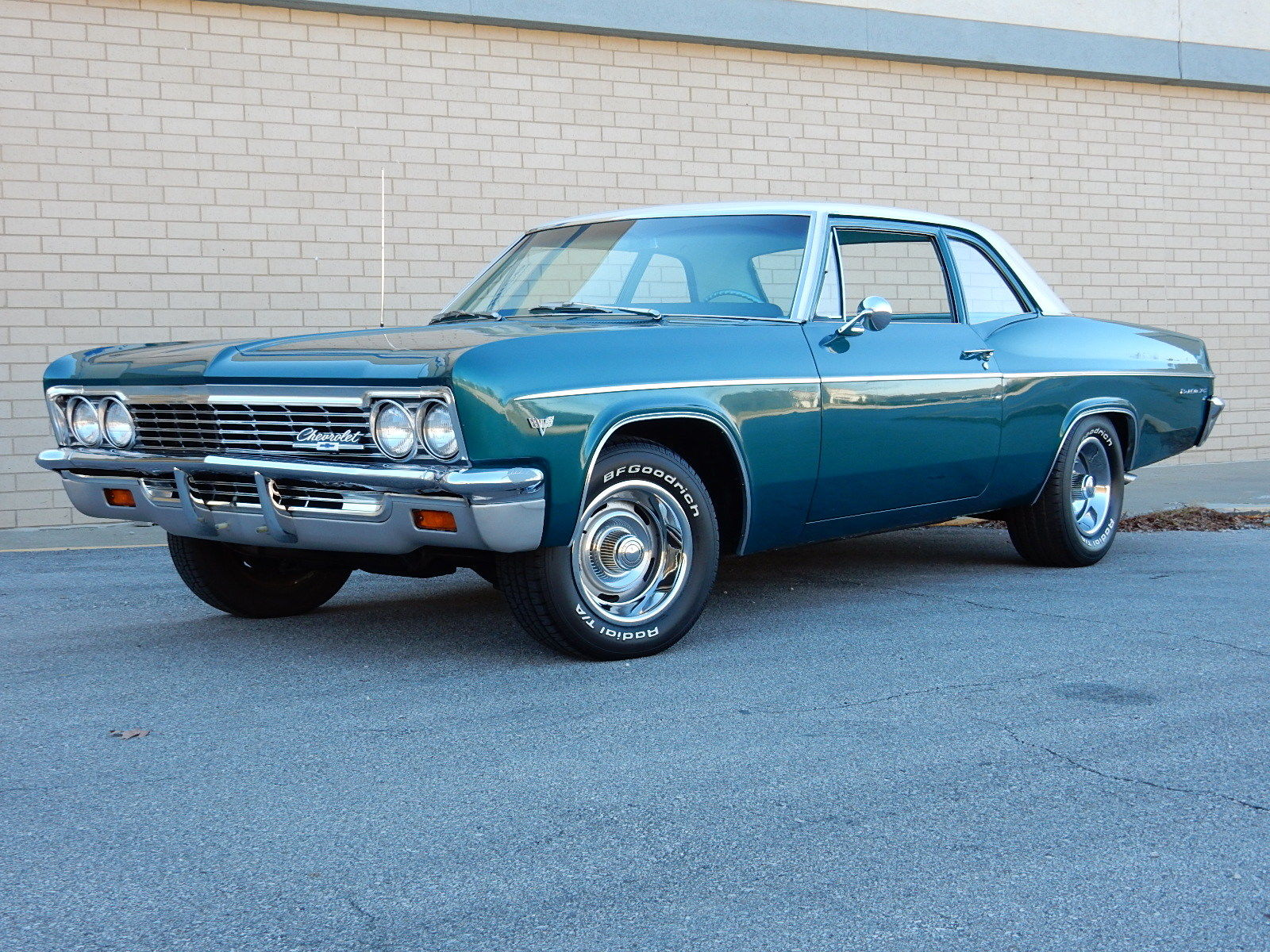Beautiful 1966 Chevrolet Bel Air Two Door Post Coupe 283 Super Chevy For Sale 150 210