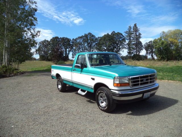 beautiful 1994 ford f150 xlt 4wd adult owned rust free. Black Bedroom Furniture Sets. Home Design Ideas