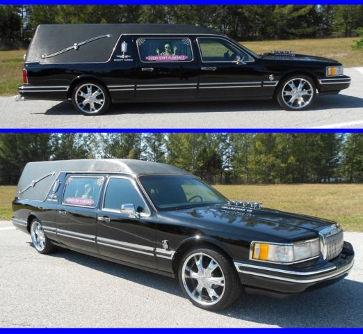 Lincoln Limo For Sale: BEAUTIFUL CUSTOM LINCOLN HEARSE TOWN CAR FUNERAL HOT ROD