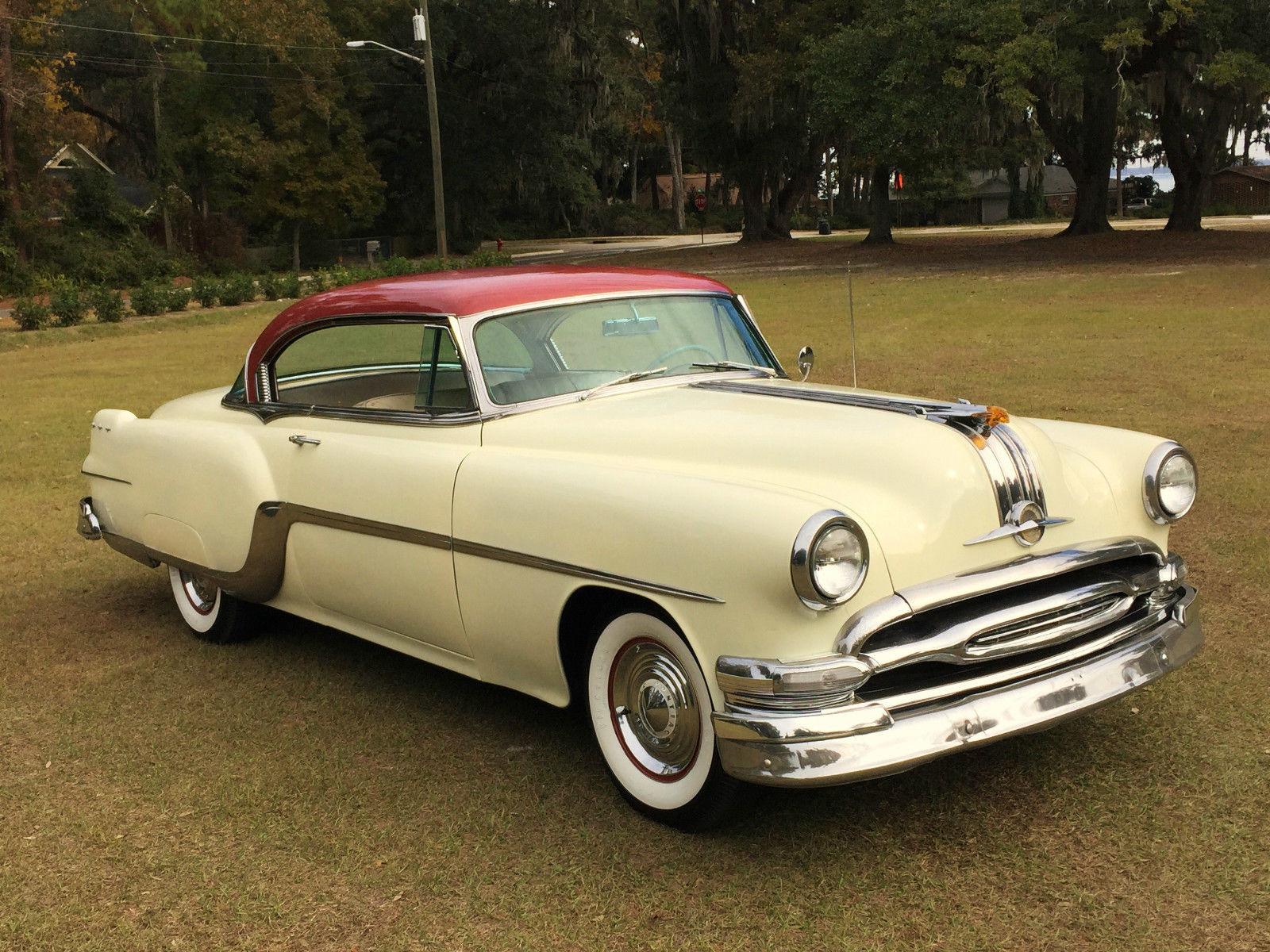 Beautiful original 1954 pontiac star chief 2 door hardtop for 1950 pontiac 2 door