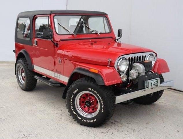 Bid Now Bid High To Win Gt 1986 Jeep Cj7 2543 Miles