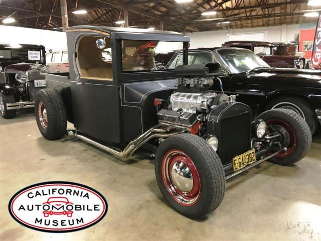 Blown 1925 Ford C Cab Pickup - Built to Rock 'n Roll!