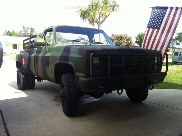 Chevy 6.2 Diesel Truck For Sale >> Bugout vehicle- M1028A2 (chevy k 30) Dually with NP205 and ...