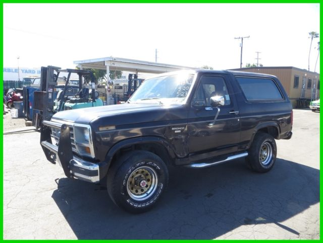 c 1986 ford bronco used 5l v8 16v automatic no reserve. Black Bedroom Furniture Sets. Home Design Ideas