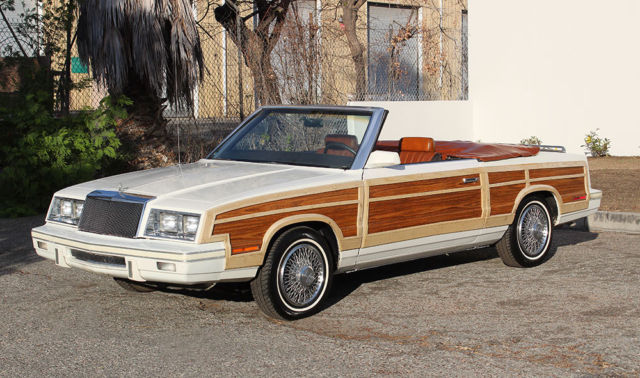 Chrysler Town And Country For Sale >> California Original, 1983 Chrysler LeBaron Town & Country ...