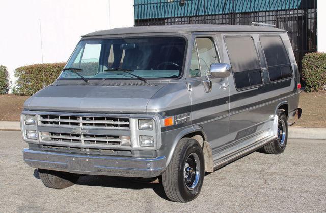 California Original, 1988 Chevrolet G20 Conversion Van, One