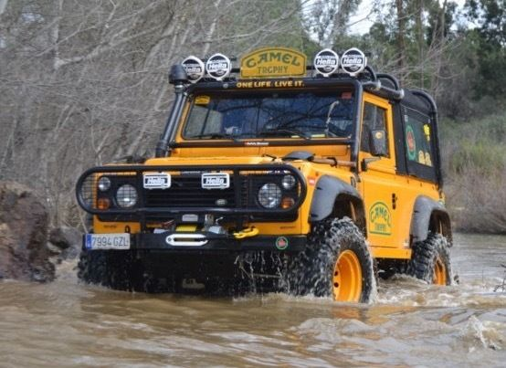 Land Rover San Juan >> CAMEL TROPHY REPLICA 1986 Land Rover Defender 90 300 tdi ...