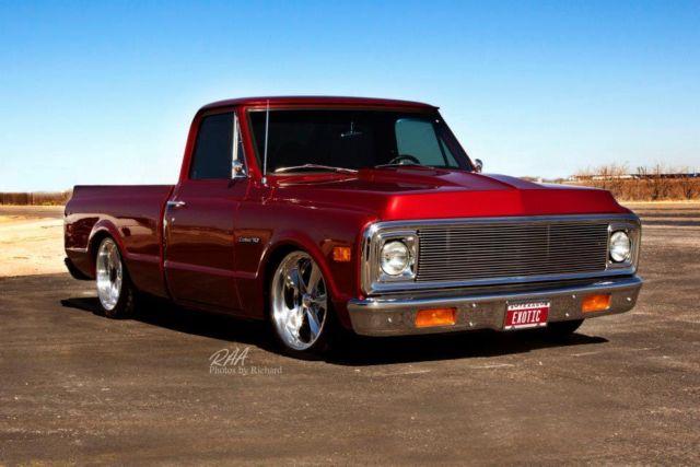 Chevrolet C10 Truck Short Bed Custom Frame Off Restored