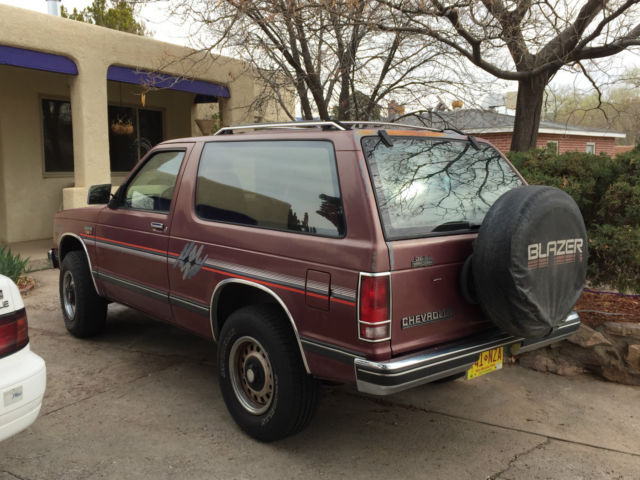 chevrolet s10 blazer 4wd tahoe edition 1989 with less than 94 000 original miles for sale in. Black Bedroom Furniture Sets. Home Design Ideas