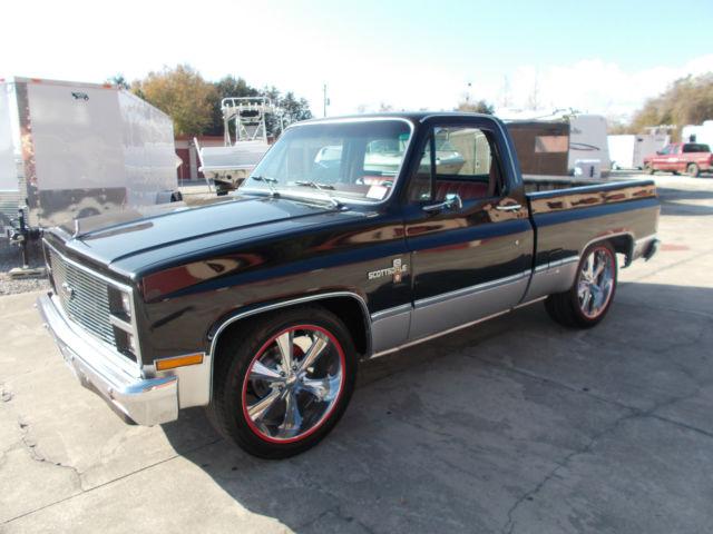 Chevrolet Scottsdale Shortbed (Silverado, Custom Deluxe ...