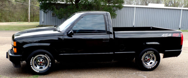Chevy 454 Ss Truck For Sale >> CHEVY 454 SS 38K MILES COWL HOOD ROLL PAN NON SMOKER 454SS
