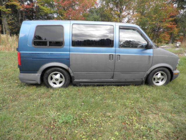 Chevy Astro 1992 Conversion Van Hot Rod V 8 5 7 350