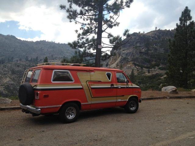 Chevy Van Boogie Vannin 70s Custom For Sale In Pleasanton California United States
