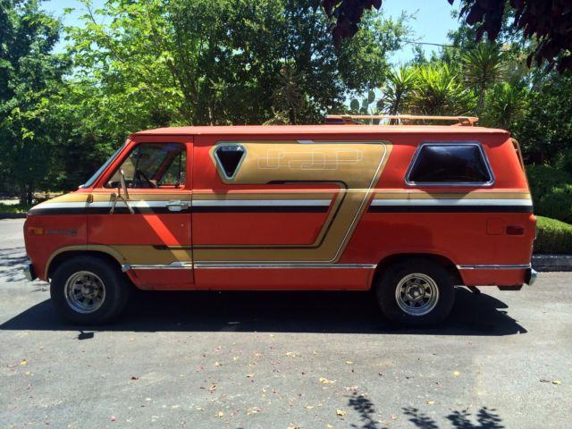 Chevy Chevy Van Boogie Van Vannin 70 S Custom Van For