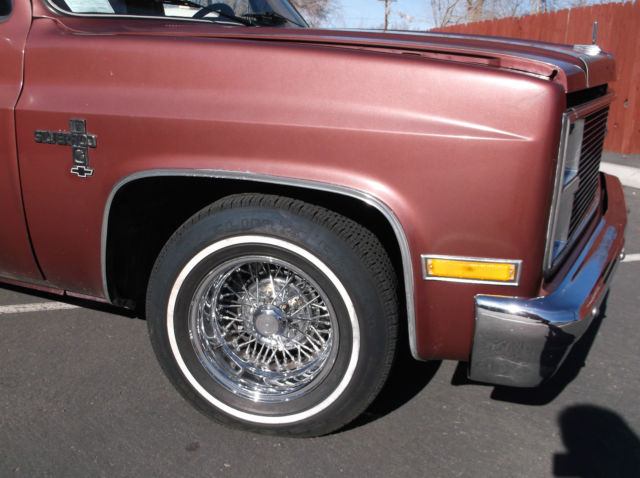 Chevy Silverado Guy >> Chevy / GMC Low Rider PIck up with wire wheels, Long Bed, 2 wheel drive for sale in Reno, Nevada ...