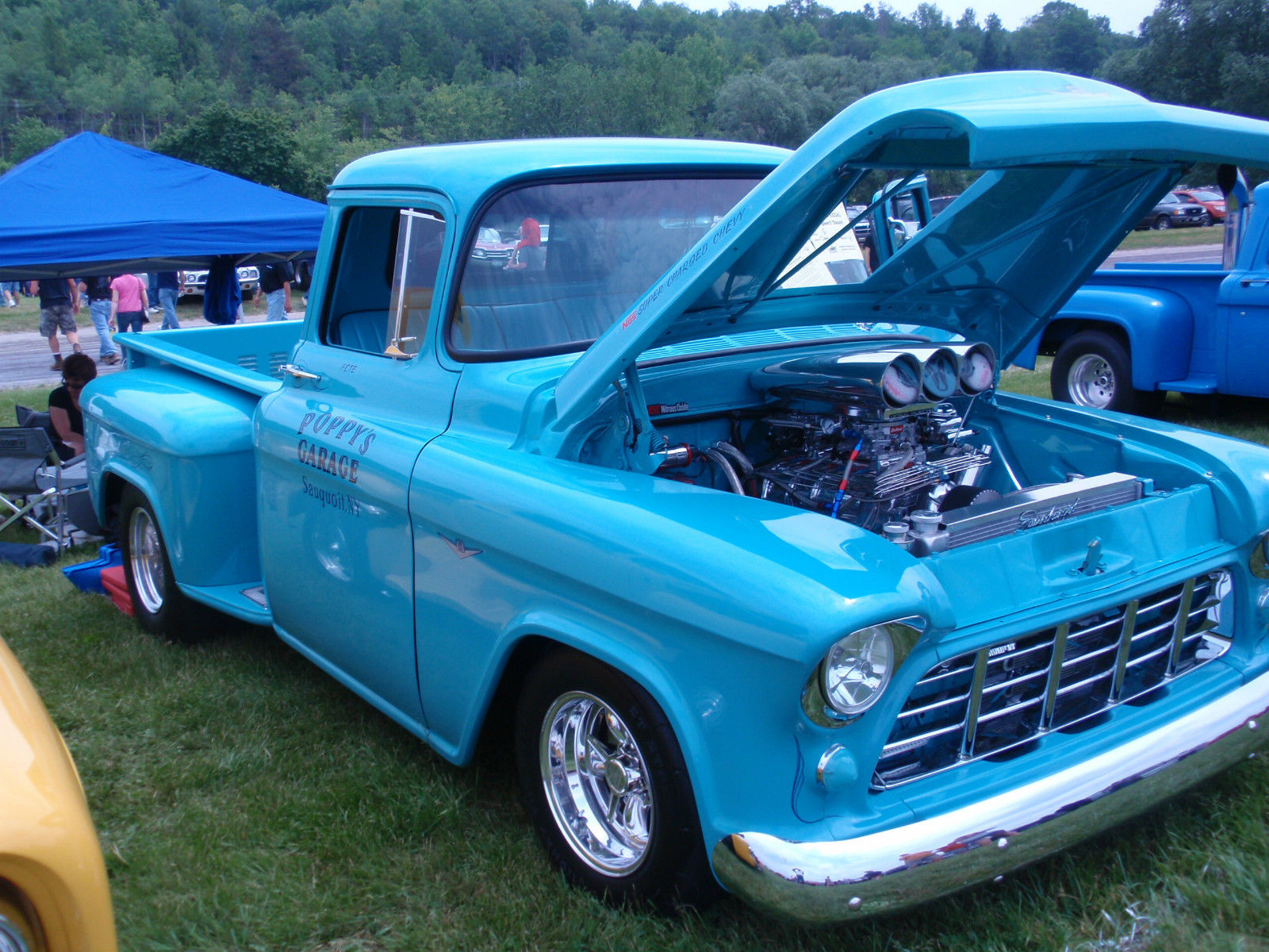 Chevy Pick Up Truck 1956 Supercharged Pro Street For Sale In Wiring Harness Chevrolet Other Pickups