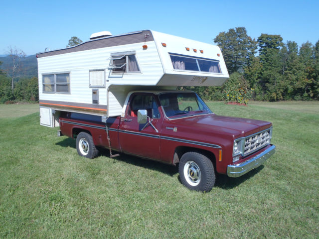 1978 chevy k20 camper special