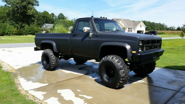 chevy truck k20 4x4 for sale in moyock north carolina united states. Black Bedroom Furniture Sets. Home Design Ideas