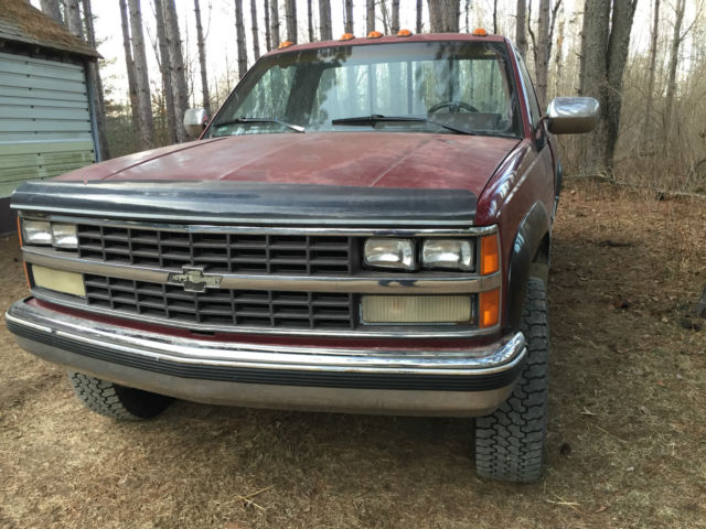 Nv4500 For Sale >> Chevy truck K2500 4-Wheel 4x4 Drive 6.2L Diesel NV4500 for ...