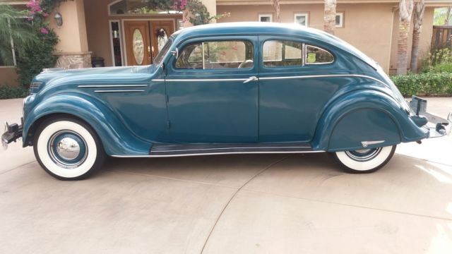 Chrysler Airflow 1937 C17 Rare 2 Door Coupe Quot Survivor